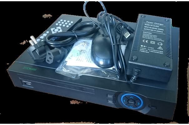 IP видеорегистратор (NVR) N9008P (8 каналов, PoE, P2P, Onvif) по цене 12950 руб. | Интернет-магазин Zodiakvideo